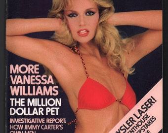 Mature Vintage Penthouse Magazine Mens Girlie Pinup : November 1984 Vanessa Williams Ex+ White Pages High Grade
