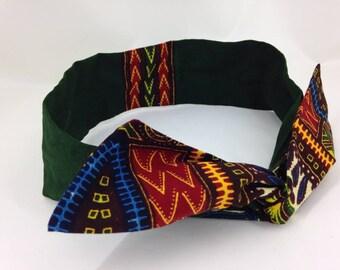 headband headband hair fabric African wax