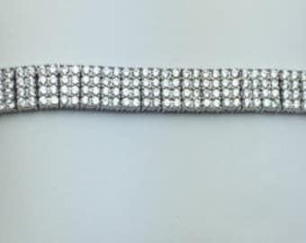 Sterling Silver Cubic Zirconium Bracelet Fabulous