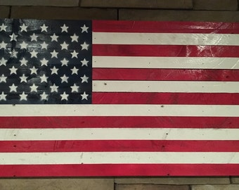 American Flag Sign