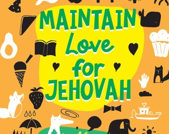 Maintain Love For Jehovah - 2016/17 Circuit Assembly Kids Activity PDF - LEVEL 1 (4-8)