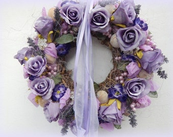 "Wreath ""Purple romance"""