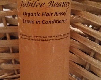 Organic Hair Rinse/ Leave in Conditioner