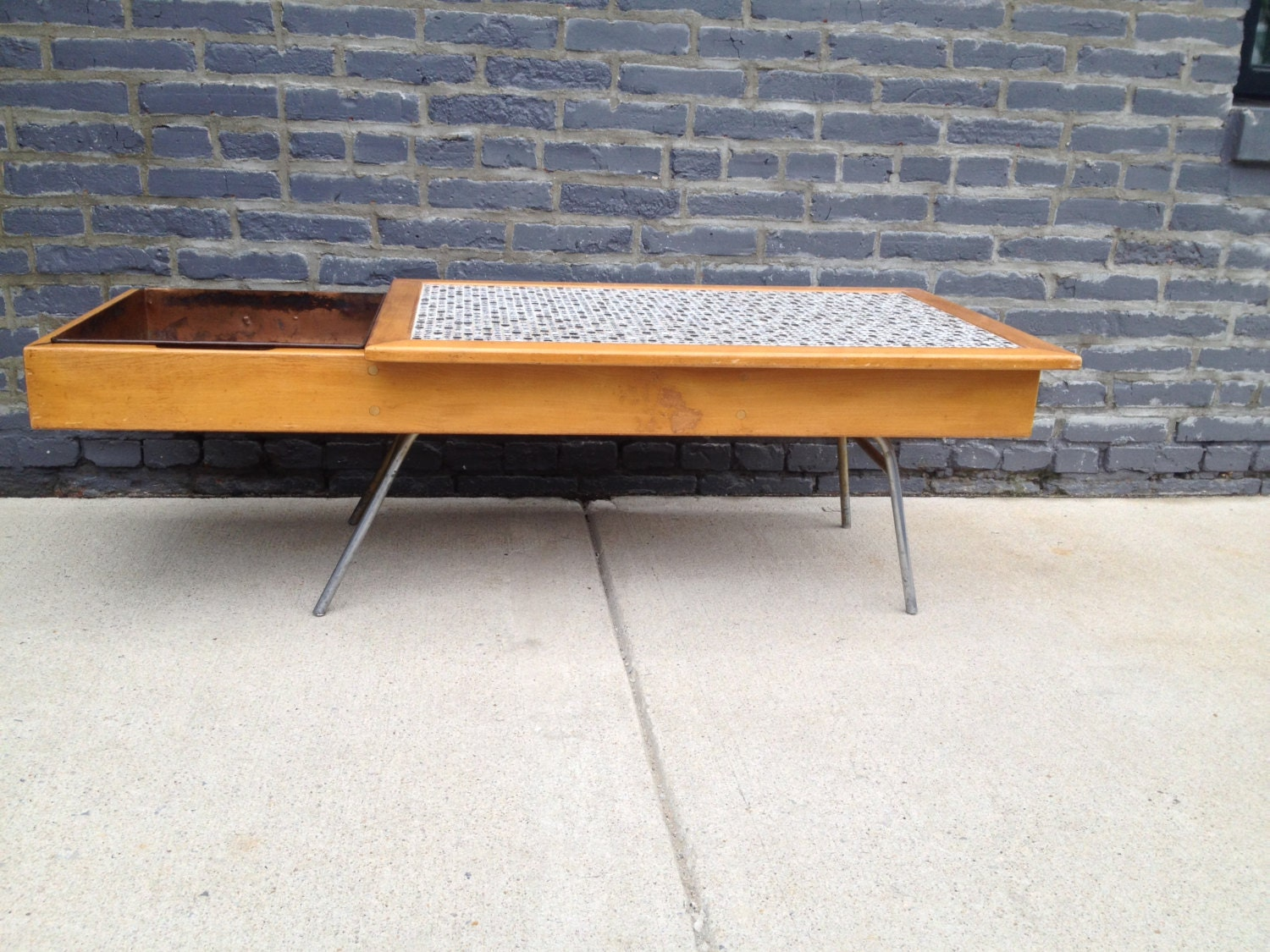 Mid Century George Nelson Coffee Table 4662