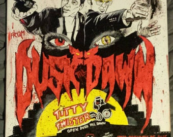 Original From Dusk Till Dawn canvas painting