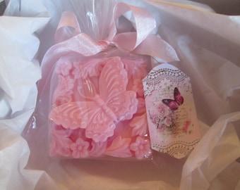 Beautiful Butterfly 3D soap, flying butterfly artisan soap, gift soap, decorative soap, Shea Butter soap, Spring Soap Easter soap