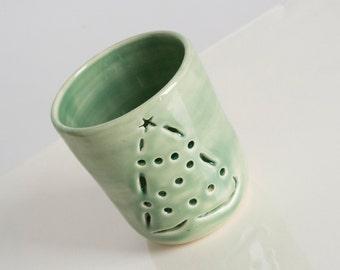 Handmade Pottery Luminary