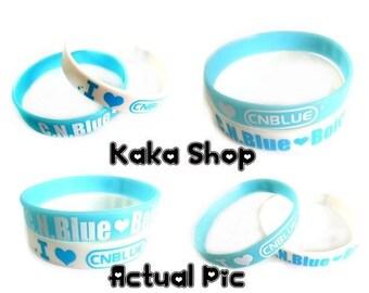 C.N.Blue cnblue Boice KPOP Group Korea Wristband Bracelet 2PCS
