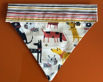 Fun Funky Dog Print Bandana