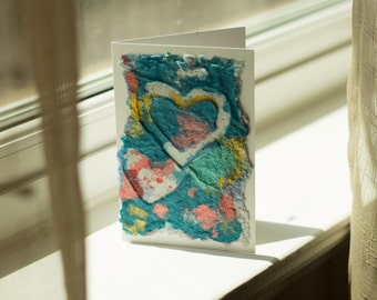 Set of 5 Artistic Note Cards