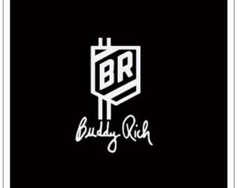Buddy Rich Apparel BR Shield Polo collared short sleave black Shirt