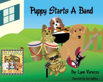 Puppy Starts A Band