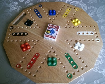 4score, the Cards and Marbles Board Game