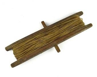Antique Fishing Line Winder ~ Kite Winder ~ Wooden Line Spool