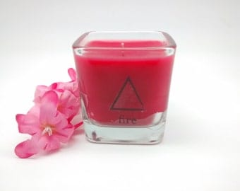 Fire Element, Element Candles, Wiccan Candles, Pagan Candles, Witchcraft Decor, Occult Candle, Altar Candles, Ritual Candles, Spell Candles