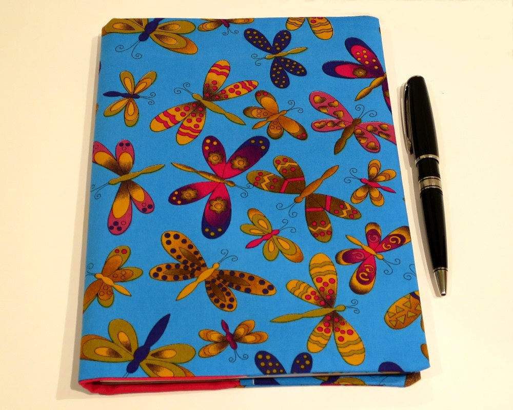 Fabric Book Cover Buy : Fabric book cover suits a notebook bonus by