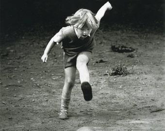Soccer Player (1978).Silver gelatin darkroom print
