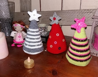 Christmas tree amigurumi crocheted