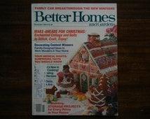 Better Homes and Gardens ~ November 1984 ~ Make Aheads for Christmas