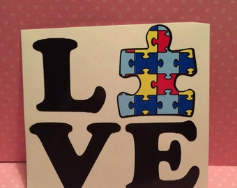 Autism Decal Etsy