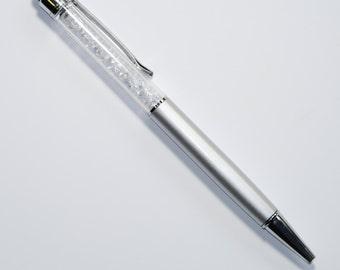 Silver Stylus Crystal Pen