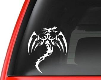 Tribal Dragon Vinyl Decal Sticker Car/Truck Laptop/Netbook Window