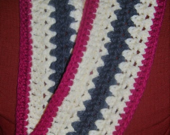 FREE SHIPPING! Super chunky crochet infinity scarf