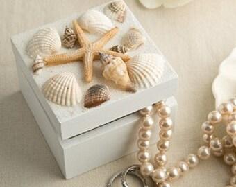 sea shell trinket box