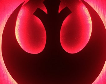 Star Wars Rebel Alliance Light Up Symbol