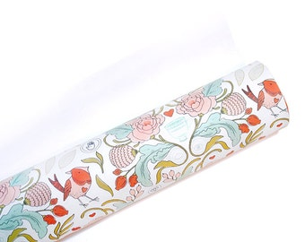 Floral Wrapping Paper - French Wrapping Paper - Gift Wrap - 3 Sheets