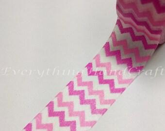 Chevron Purple Pink Pastel Washi Tape/ Chevron Pastel Decorative Tape / Purple Pink Masking Tape / Zakka Washi Tape 10m D17