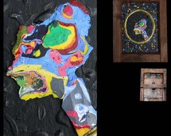 Painting conceptual ALIEN 2