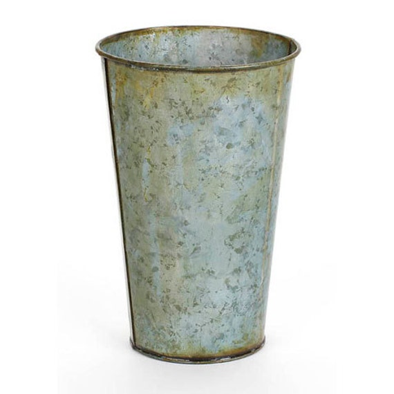 Rustic Tin French Pot
