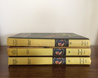 Nancy Drew Books #51 #54 #55