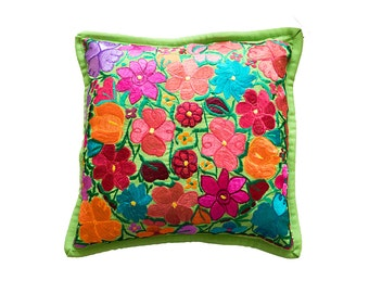 Flor Cushion Cover | Green
