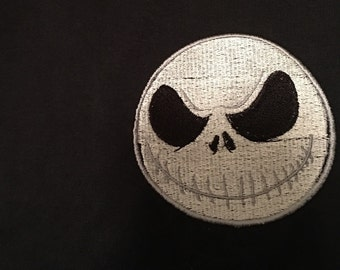 Nightmare before christmas embroidered hoodie