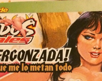 90s vintage Tijuana Bible lot, adult comics from Mexico, 18 and over
