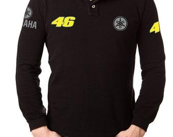 Yamaha vr46  t shirt motorcycle shirt, long sleeves