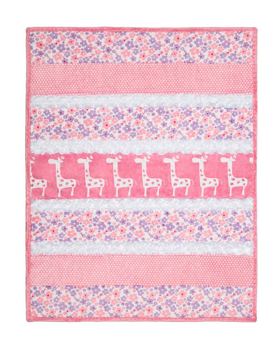 Bambino Cuddle Baby Quilt Kit Sugar And Spice Minky
