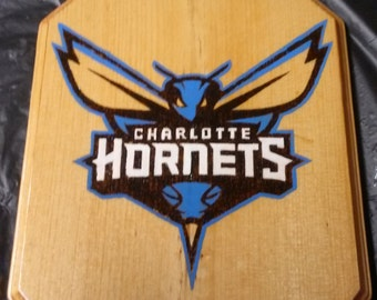 Charlotte Hornets plaque