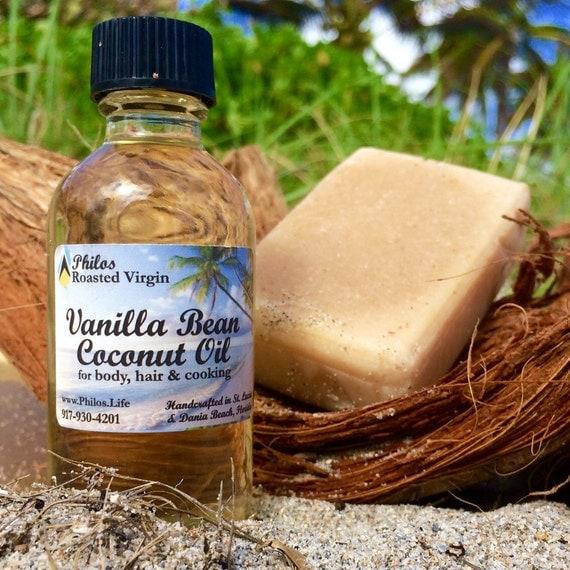 Hibiscus & Vanilla Coconut Oil Set