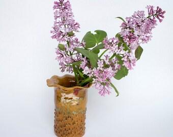 Handmade Ceramic Flower Vase, modern vase, ceramic flower vase, ceramics, small flower vase, ceramics and pottery, housewarming gift