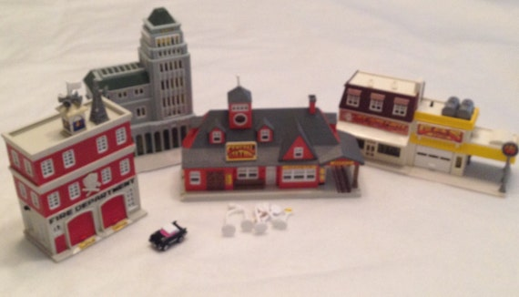 micro machine buildings