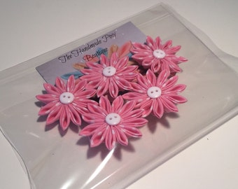 Kanzashi Flower Hair Clip Party Favours - Party Bag Fillers - Girls Party