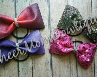 Tuxedo bows - Tail-less cheer bows
