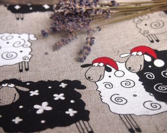 Linen Tea Towel, Natural Linen Kitchen Towel, Eco Kitchen Towel, Linen Christmas Gift