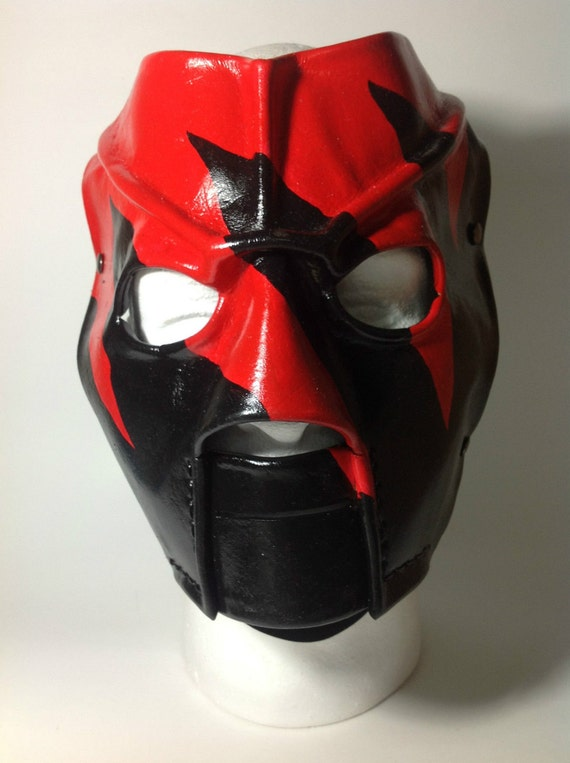 leather kane mask replica 20002002 version 5 halloween