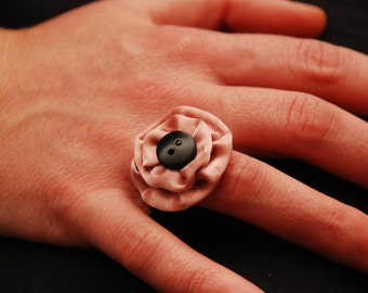 Coccardina fabric ring