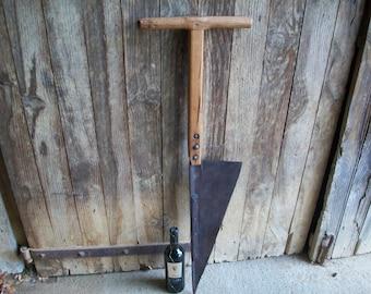 Coupeur de foin, ancienne ferme des outils, outils à main agricoles, Antique Decor agricoles, industriels, Coupe Des Foins