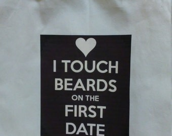 13.5 x 13.5 Tote Bag - Beards Love